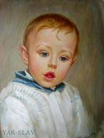 Детских портретов живопись и графика