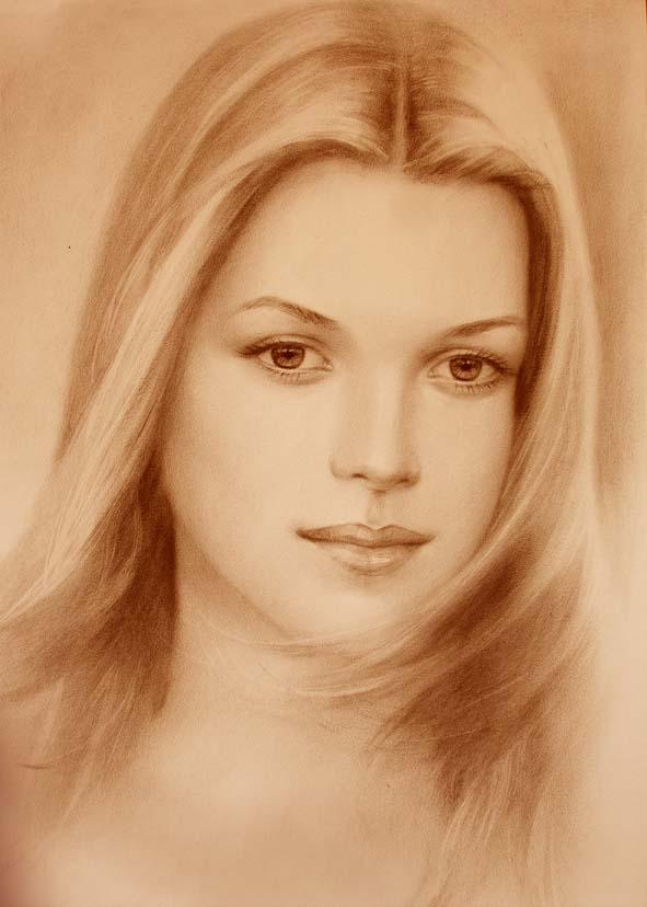 Нарисовать графический портрет