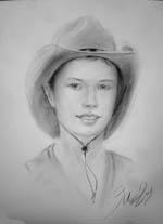 Портрет мальчика в подарок техика