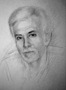 Празднике мужской портрет карандашом